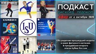 Октябрь 2020 В преддверии второго этапа кубка России