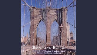 Brooklyn Bridge: North Empire State Building, Chrysler Builing and Rockefeller Center