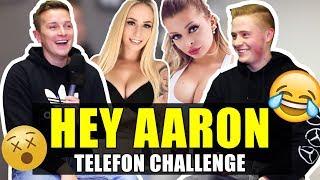 AARON TROSCHKE Telefon Challenge #Promi-Edition