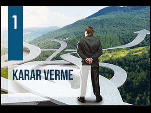 AK Parti Siyaset Akademisi UZEM 1 - Karar Verme