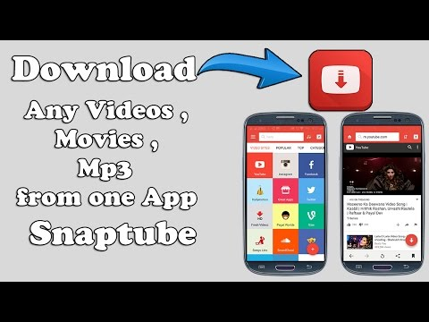 Download Any Videos , Movies , Mp3 From One App.