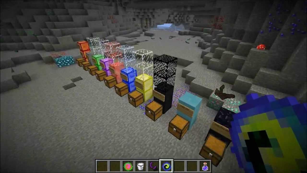 minecraft dimension of mining a true miners heaven mod showcase youtube