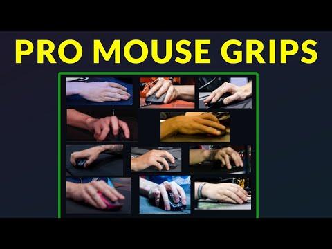 How CS:GO Pros Grip Their Mouse