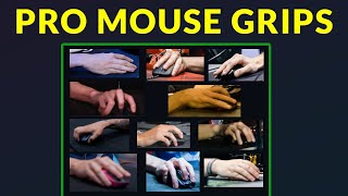 How CS:GO Pros Grip their Mouse