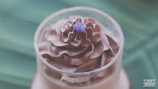 """[ NO OVEN ] How to make """"Earl grey"""" Panna cotta (=Pudding)~* : Cho's daily cook"""