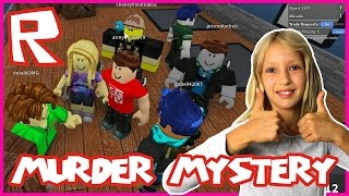 Murder Mystery - I KILLED THE MURDERER - playing Roblox with ronaldOMG