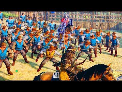 Can A Samurai Lead 100 Farmers To Victory? (Conqueror's Blade)