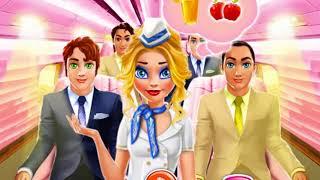 Мультик игра Одевалка: Стюардесса Нина (Nina Airlines)