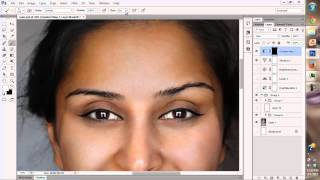 ASMR (Autonomous Sensory Meridian Response) Applying Makeup in Photoshop Part 2