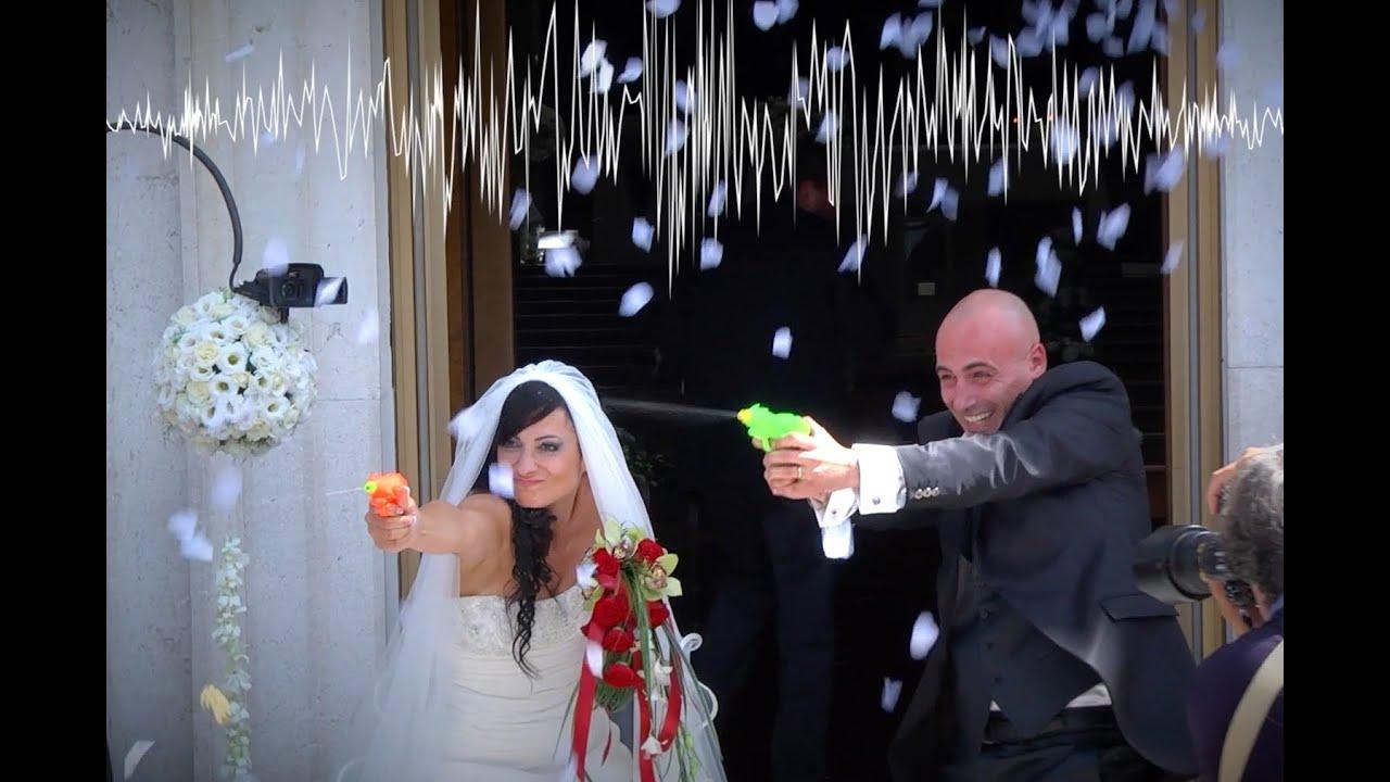 abbastanza Matrimonio divertente - uscita dalla chiesa con pistole ad acqua  RE91