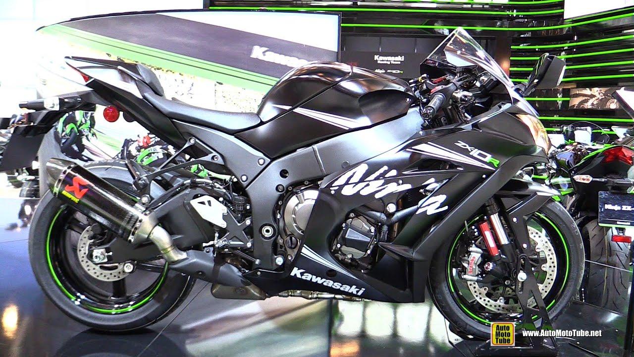 2016 Kawasaki Ninja ZX10R Winter Test Edition