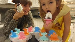 DONDURMA YAPTIK, YAZ GELDİ, En pratik yöntemle dondurma yaptık, eğlenceli çocuk videosu