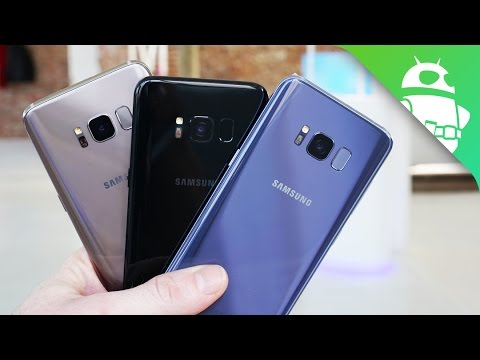 Samsung Galaxy S8 Color Comparison Which One S The Nicest Youtube