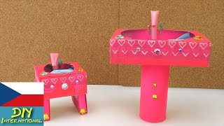 Umyvadlo pro Barbie - nábytek pro panenky