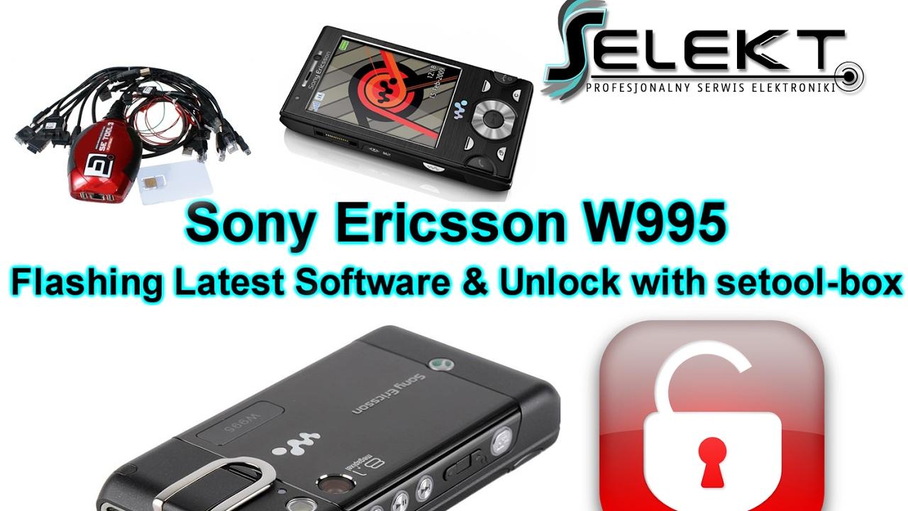 sony ericsson w995 software