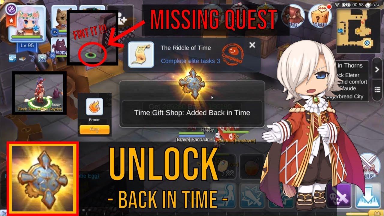 Time gift Quest Ragnarok mobile Kebak