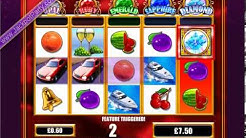£1243.41 ON RICHES OF ROME™ LIFE OF LUXURY PROGRESSIVE (2072 X STAKE) - SLOTS AT JACKPOT PARTY