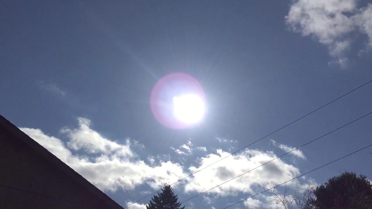Blue Ray Sky Sun Simulator Working Great Size Of Sun