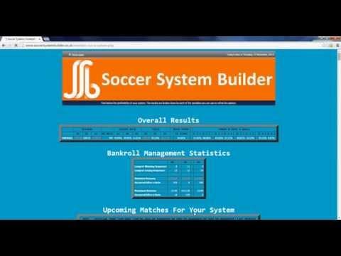 SoccerSystemBuilder System Building Demonstration