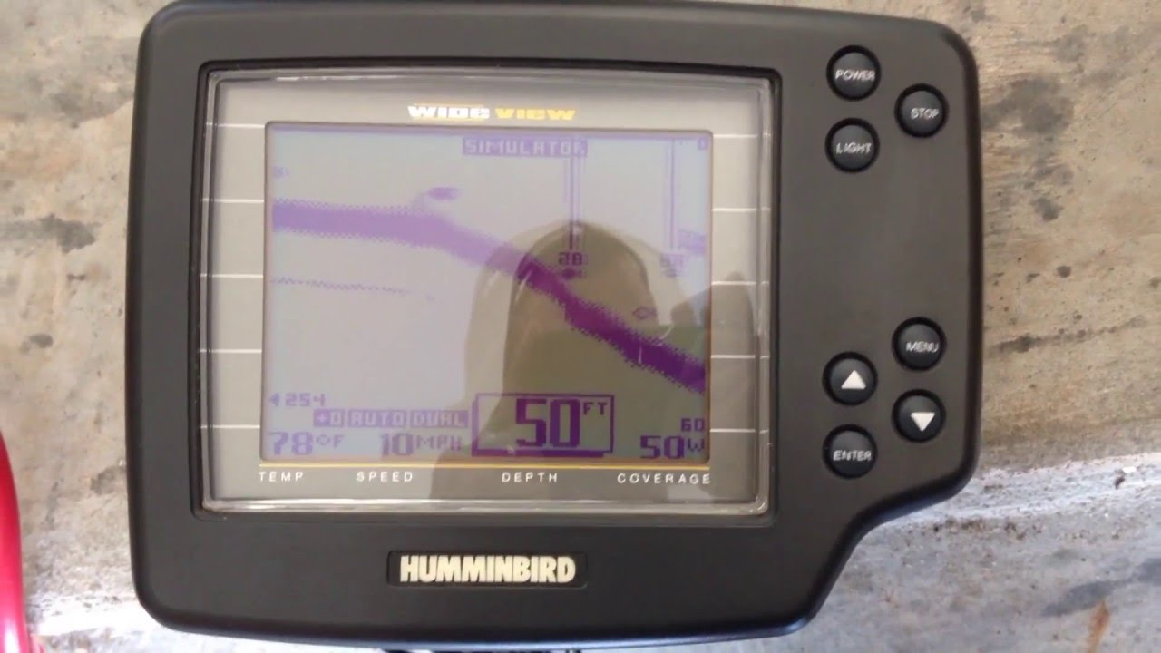 humminbird wideview simulator - youtube, Fish Finder