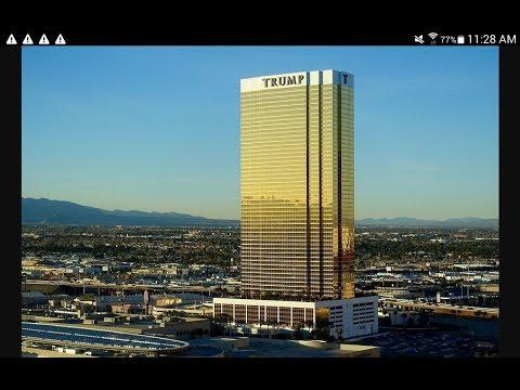 Las Vegas Trump International Hotel Room + $20 Trick and accidental reveal.