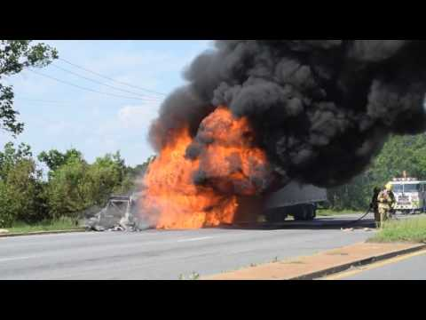 Tractor Trailer Fire – PGFD