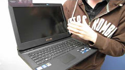 ASUS G53 15.6in GTX 560 Gaming Notebook Unboxing & First Look Linus Tech Tips