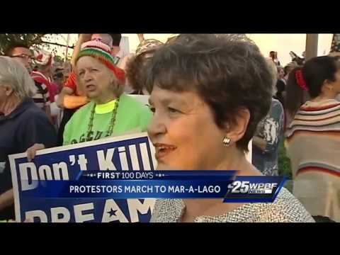 3,000 people protest in downtown West Palm Beach