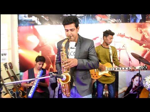 Mere Samne Wali Khidki Mein | Aamir Nadaf | Saxophone Cover | Instrumental | Kishore Kumar