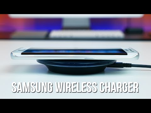 Samsung Qi Wireless Charging Pad for Galaxy S6 Review
