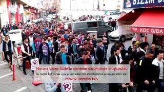 Trabzonspor Tribünlerine Atılmış En Büyük İmzadır ''TRABZONLU GENÇLER''  ...