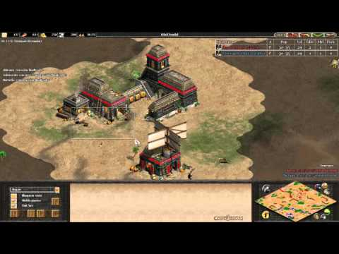 APRENDER CON THE VIPER VS DOGAO GRAN PARTIDA AGE OF EMPIRES 2