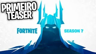REVEALED THE FIRST TEASER OF THE SEVENTH SEASON, NEW ICE SKIN?! -Fortnite, the
