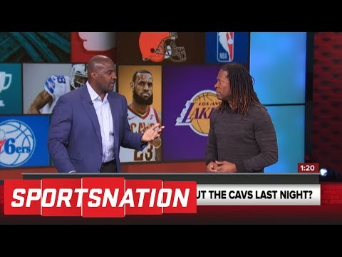 Marcellus Wiley on if the Cavaliers' other players can help LeBron James: 'No' | SportsNation | ESPN