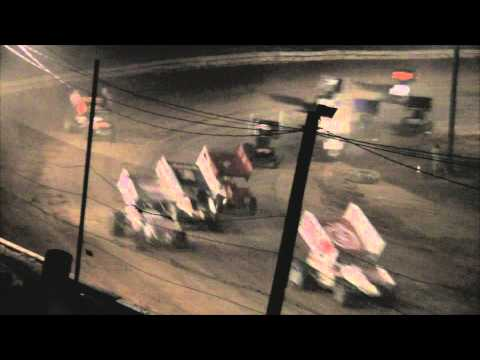 Path Valley Speedway 410 Sprint Car Highlights 7-29-12