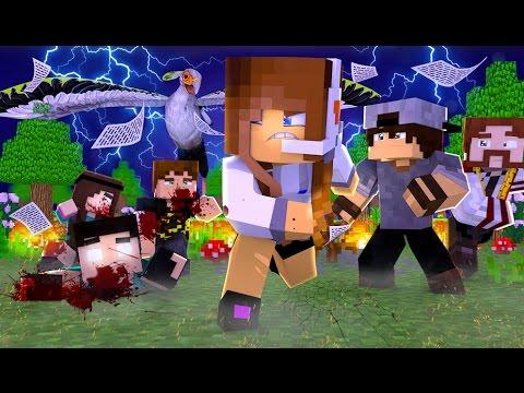 Minecraft: MURDER - PÁSSARO ASSASSINO!