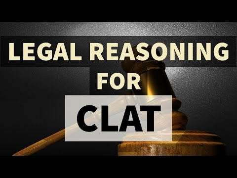 Legal Reasoning / Legal aptitude for CLAT 2018