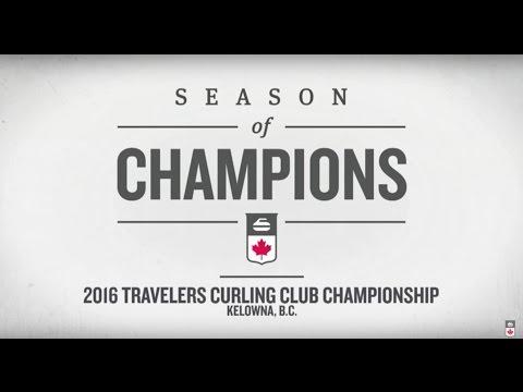 2016 Travelers Curling Club Championship - New Brunswick VS Nunavut (WOMEN