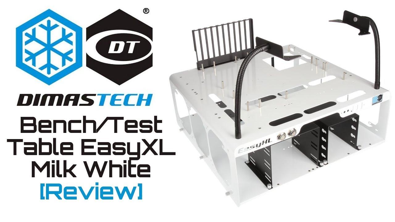 Dimastech Test Bench Table Easyxl Milk White Review