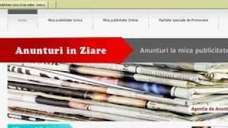 Mica publicitate - Anunturi in ziare - Agentia de Anunturi Online(, 2010-10-15T05:20:41.000Z)