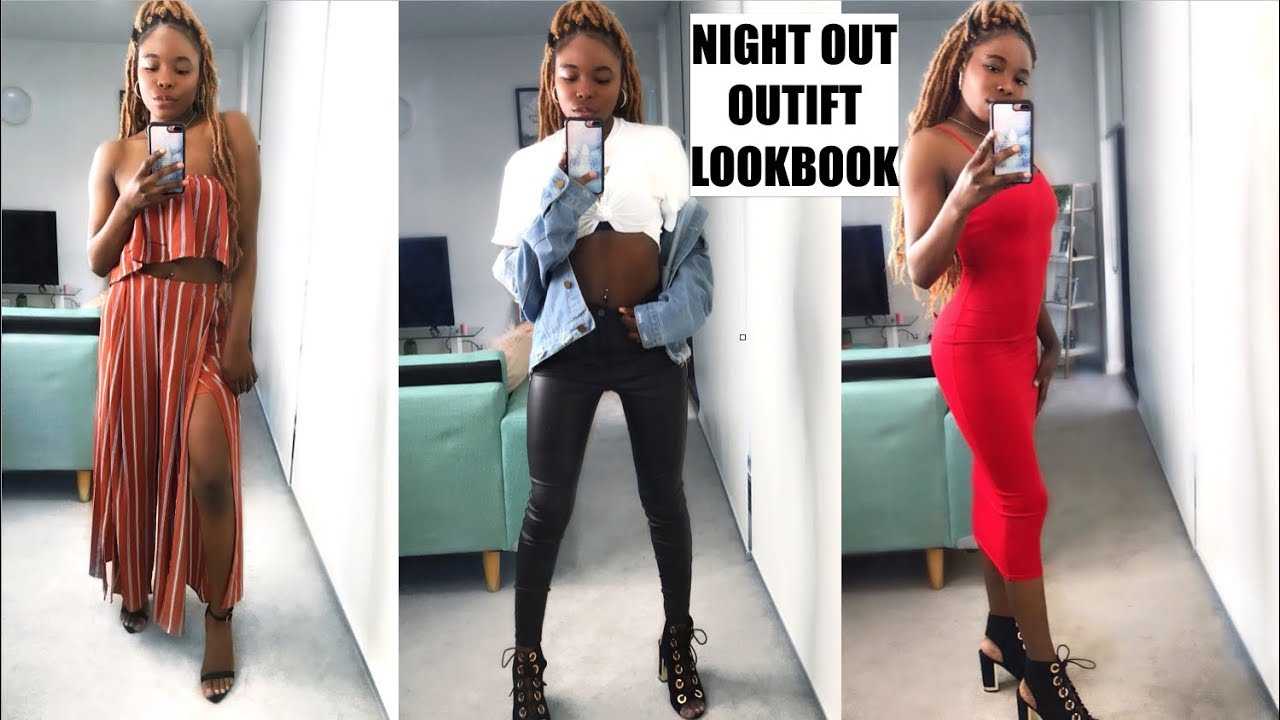 GIRLS NIGHT OUT/ NIGHT OUT OUTFIT IDEAS LOOK BOOK 2018 |MsElizJay 5