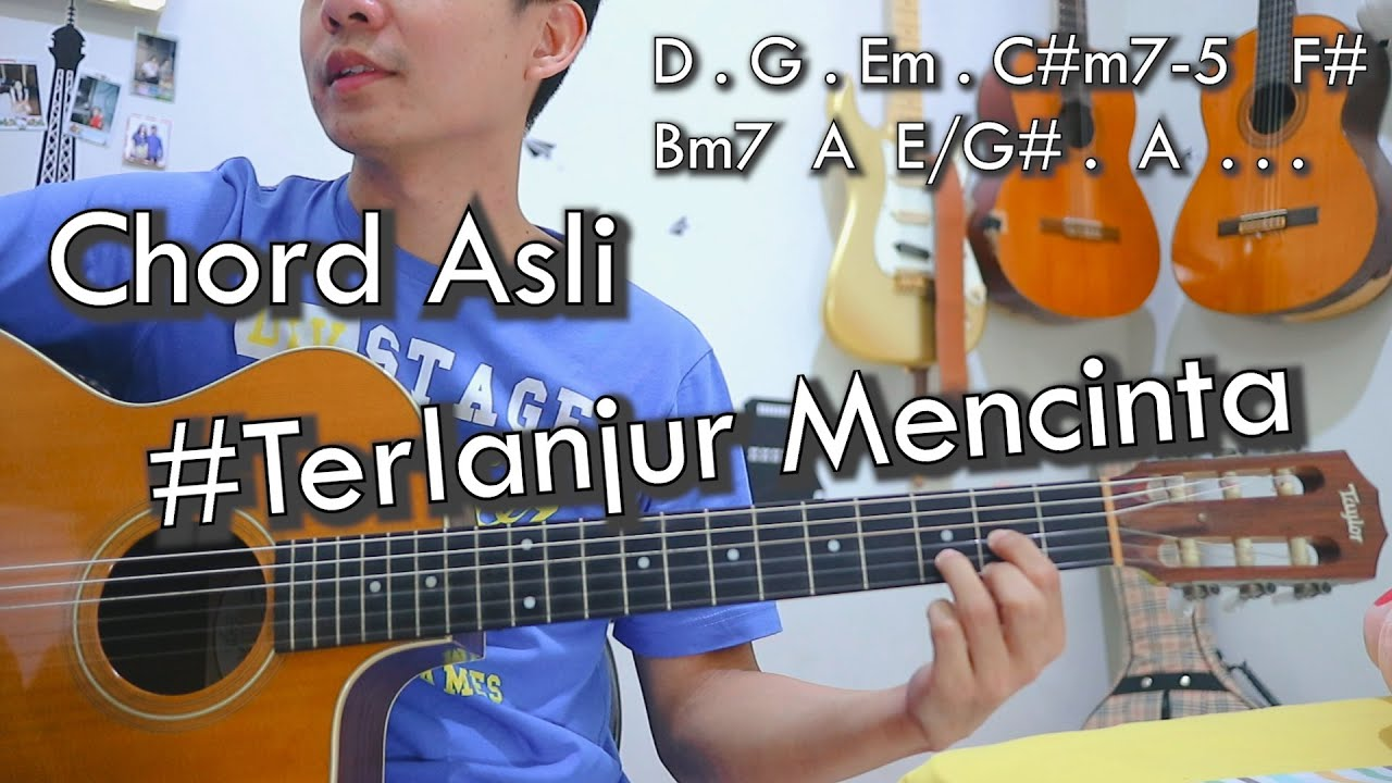 Terlanjur Mencinta - Tiara, Lyodra, Ziva  | NY Tutorial Gitar Chord Asli