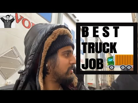 BEST TRUCKING JOB FOR NEW DRIVERS IN CANADA