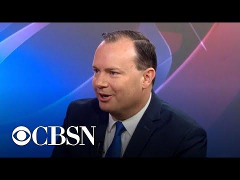 Sen. Mike Lee speaks on Trump, Mueller report