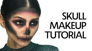 Get Ready With Me: Halloween Skull Makeup Tutorial | Sephora