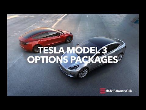 Tesla Model 3 Options | Model 3 Owners Club