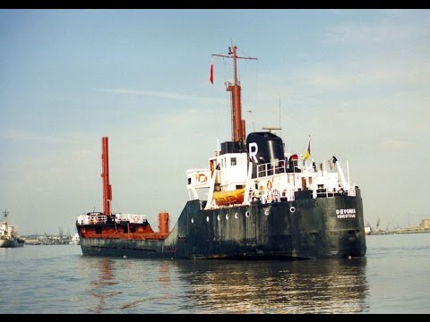 Coastal Shipping on the Thames and Medway in the 1980'and 1990's
