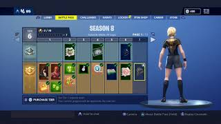 Full Season 8 Battle Pass - France Fortnite Bataille Royale