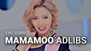 [ENGSUBS] MAMAMOO - Adlibs of Um Oh Ah Yeh (Live): Part 2