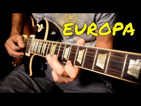 Carlos Santana - Europa Cover